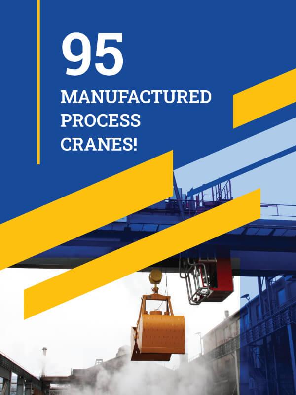 Process cranes metalna