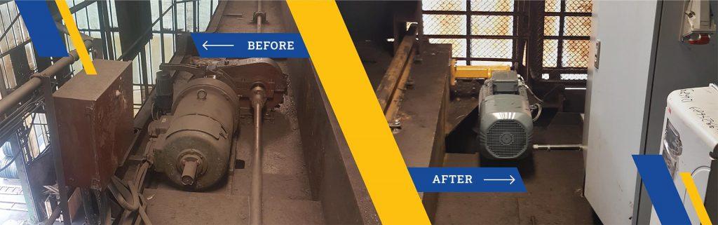 Modification and modernisation metalna